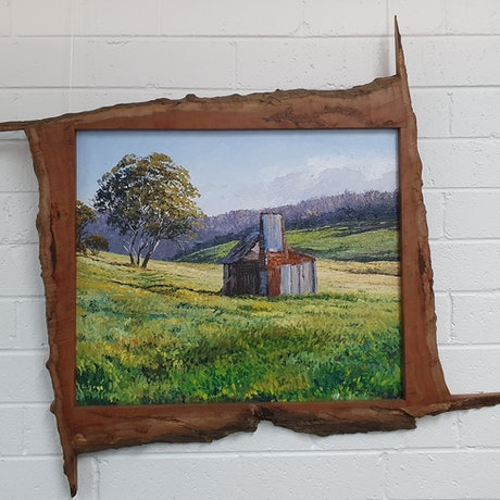 (CreativeWork) REMNANTS OF HISTORY-KOSCIUSZKO REGION by Margaret HADFIELD. Oil. Shop online at Bluethumb.