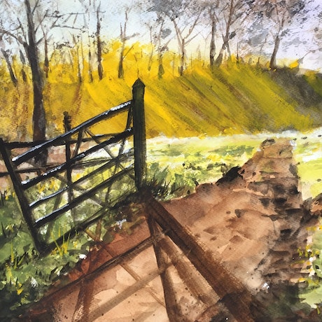 (CreativeWork) Gateway to Heaven by Bernd Rieve. Mixed Media. Shop online at Bluethumb.