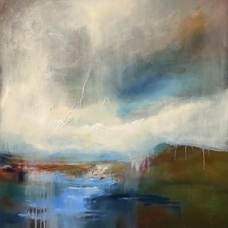 (CreativeWork) Passing Front  by Joanne Duffy. Oil. Shop online at Bluethumb.