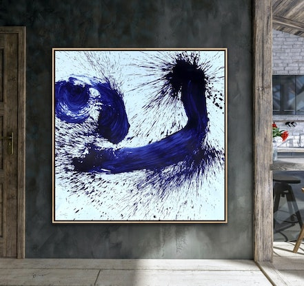 (CreativeWork) FACE OF ENLIGHTENMENT  by Shane Bowden. Mixed Media. Shop online at Bluethumb.