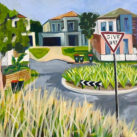 (CreativeWork) Living the Dream  by Alison Pilcher. Acrylic. Shop online at Bluethumb.