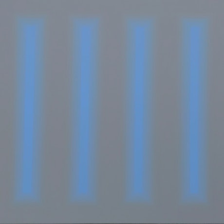 Abstract Blue bands on grey background