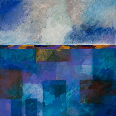 (CreativeWork) APPROACHING STORM by Thomas Andersen. Acrylic. Shop online at Bluethumb.