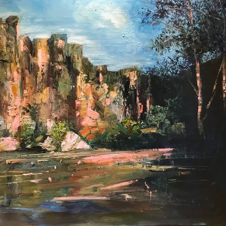 Rugged Cliiffs of Windjana Gorge  is all about my love for the Australian outback dramatic and beautiful landscapes, towering cliffs, rocky headlands, sandy beaches and natural rivers - simply stunning.