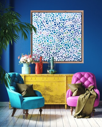 Mosaic, Patterns, Abstract, windows of colour, Leadlight
