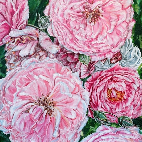 Also in a standard A2 size (Border included), should be able to fit in any A2 size frame you have easily. LIMITED EDITION Giclée print on 310gsm textured paper. Unframed . All prints are individually signed , numbered, and comes with a certificate of authenticity. <br> Original painting info : <br> CELEBRATIONS – PEONIES GALORE(2018) <br> Original artwork is painted with Artist Acrylic on Acid free canvas. <br> Celebrate the good things in life, believe in yourself that you have the inner strength to learn from the bad. You will never know if you never try. Experiencing the moment. Now is the very best time to be alive. <br> -Bloom like flowers series- by HSIN LIN Bloom like spring flowers with no fear. <br> Artwork inspired by a beautiful peony garden in Croydon, Melbourne,Victoria,Summer, 2018. -HSIN LIN <br> – MELBOURNE INTERNATIONAL FLOWER & GARDEN SHOW – 21-25 MARCH 2018 -7th-29th April 2018 Open Exhibition Oil/Acrylic, Pastel & Watercolour @ The Hut Gallery <br> You can also view this art video in the link below: https://www.youtube.com/watch?v=ie-7zVLWbRA&feature=youtu.be <br> 5 Mar - 5 Jun 2021 - On Show with ColourSpace Australia