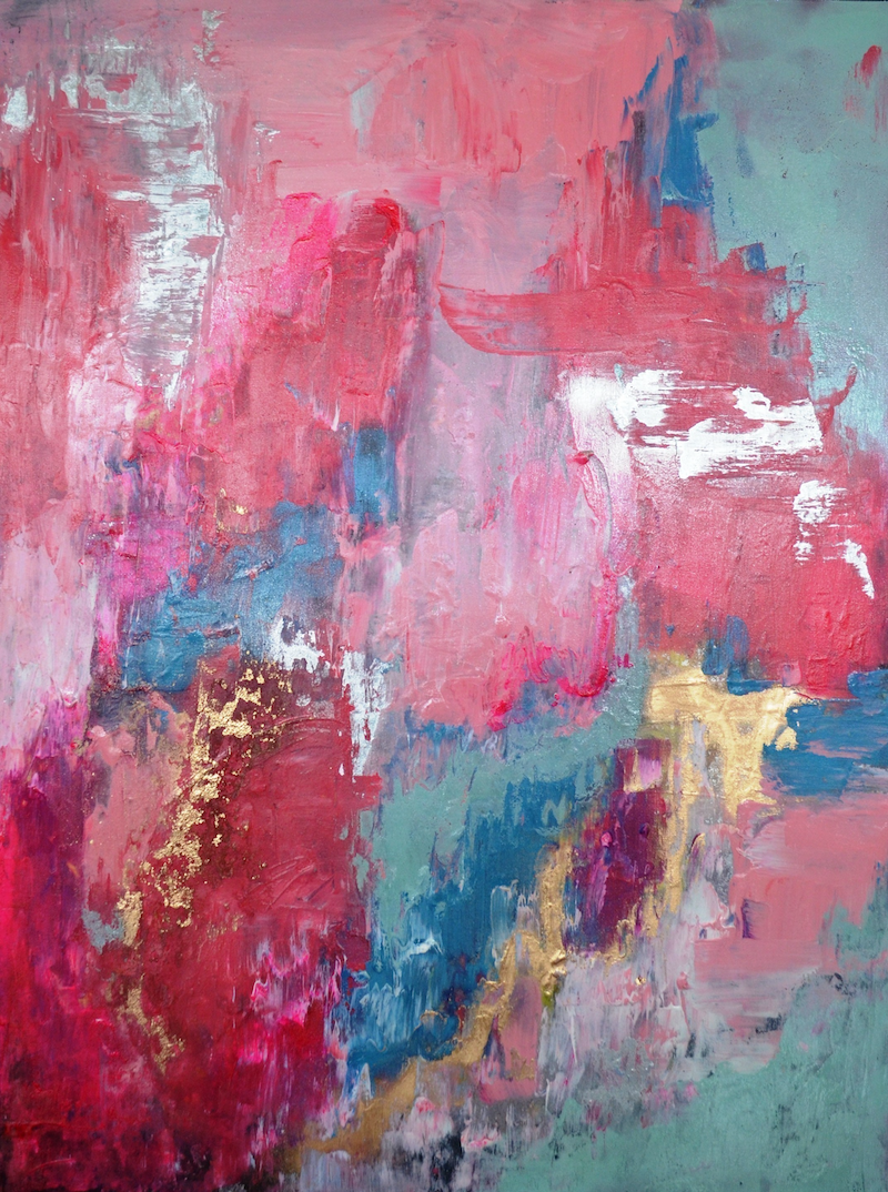 Pretty Pastels Abstract Painting By Jessica Seroka