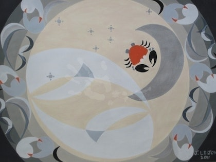 (CreativeWork) Crabs can be Moony (4th of 12) by June Leijon. other-media. Shop online at Bluethumb.