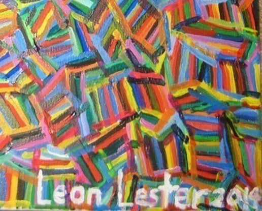 (CreativeWork) Turiya by Leon Lester. Acrylic Paint. Shop online at Bluethumb.