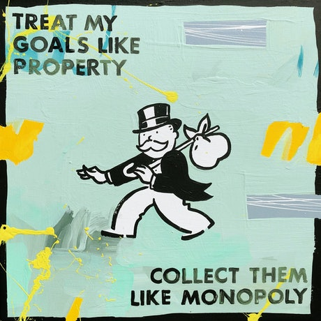 The Monopoly Man with lyrics by Ariana Grande