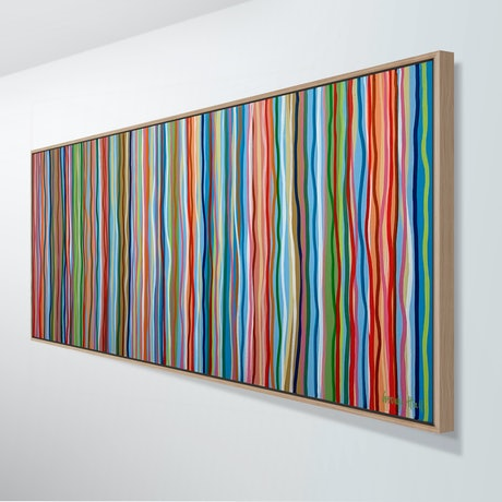 70s Funky Colourful Painting