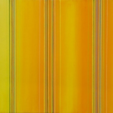 (CreativeWork) Yellow spectrum shift 793 by Ernie Gerzabek. Acrylic Paint. Shop online at Bluethumb.