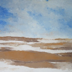(CreativeWork) Landscape 3 by John Graham. oil-painting. Shop online at Bluethumb.