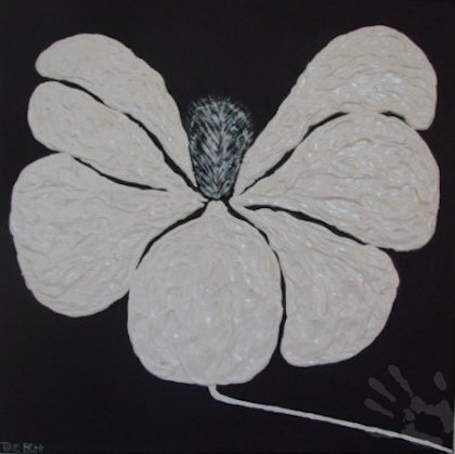 (CreativeWork) Magnolia Magnolia 3 by Torie BEGG. arcylic-painting. Shop online at Bluethumb.