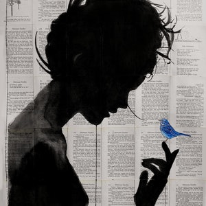 (CreativeWork) poetica by loui jover. mixed-media. Shop online at Bluethumb.