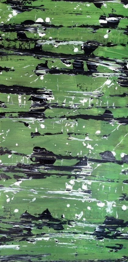 (CreativeWork) The grass isnt greener by Al Mlinarević. arcylic-painting. Shop online at Bluethumb.