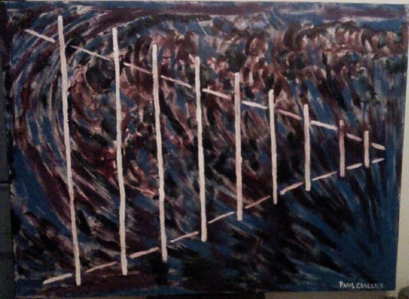 (CreativeWork) Infinity by Paul Crollick. Oil Paint. Shop online at Bluethumb.