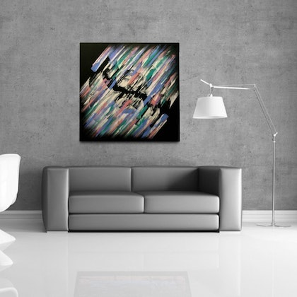 (CreativeWork) Waking Up by Paul Ikin. arcylic-painting. Shop online at Bluethumb.