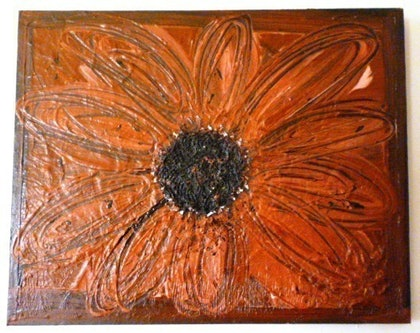 (CreativeWork) Flower 1 by Melanie Doheny. mixed-media. Shop online at Bluethumb.