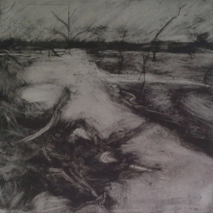 (CreativeWork) Drying Riverbed ed 3 of 3 by Sarah Booth. print. Shop online at Bluethumb.