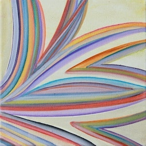 (CreativeWork) Abstract #11 by Lauren Suchenski. arcylic-painting. Shop online at Bluethumb.