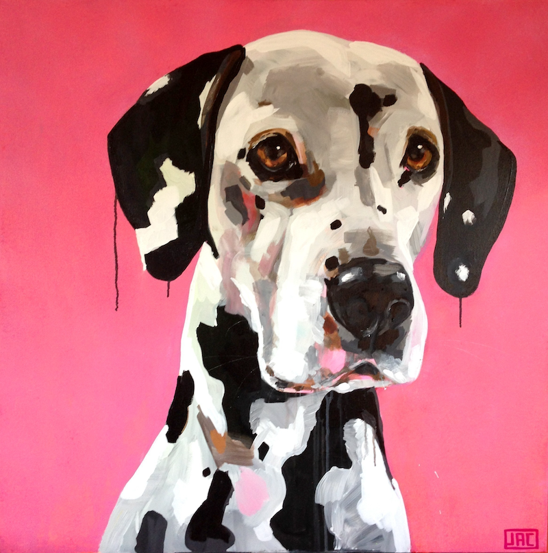 (CreativeWork) Dymo the Dalmation by Jac Clark. #<Filter:0x00007f1f8088e068>. Shop online at Bluethumb.