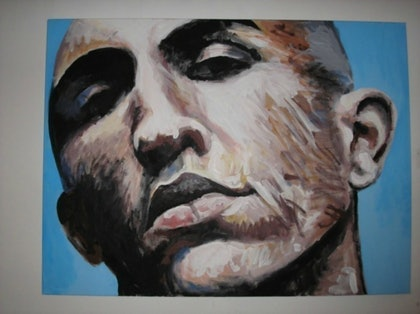 (CreativeWork) Exposed by Andrew Dunsire. arcylic-painting. Shop online at Bluethumb.