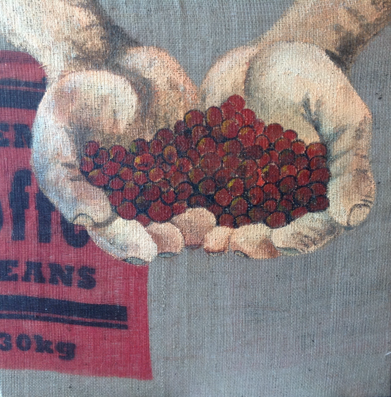 (CreativeWork) Fair Trade Coffee by Gaye C Boltong. arcylic-painting. Shop online at Bluethumb.