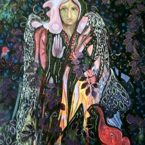 (CreativeWork) Angel by Christine DuBrae-James. mixed-media. Shop online at Bluethumb.