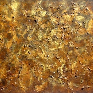 (CreativeWork) GOLDEN LEATHER by alan thomas. mixed-media. Shop online at Bluethumb.
