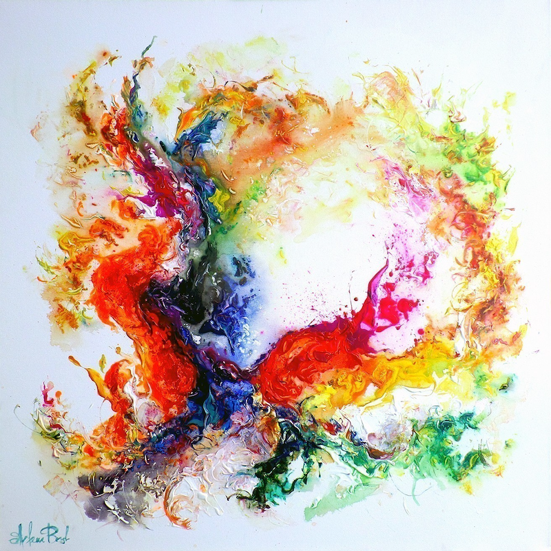 (CreativeWork) Intuitive Formation by Artem Bryl. mixed-media. Shop online at Bluethumb.