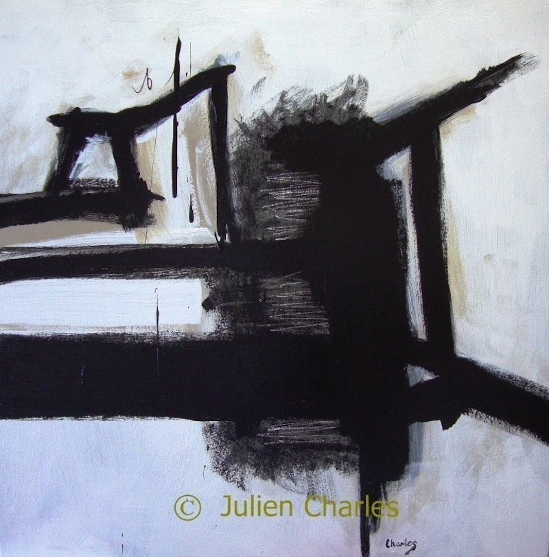 (CreativeWork) Busy Bees by Julien Papa Charles. acrylic-painting. Shop online at Bluethumb.