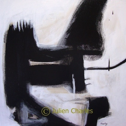 (CreativeWork) The Trojan Horse by Julien Papa Charles. arcylic-painting. Shop online at Bluethumb.