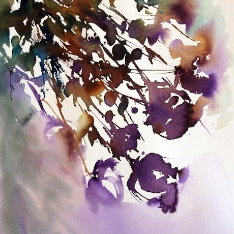 (CreativeWork) Silhouette Capture by Jill Bryant. Watercolour Paint. Shop online at Bluethumb.