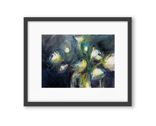(CreativeWork) Nervy by Jill Bryant. Watercolour. Shop online at Bluethumb.