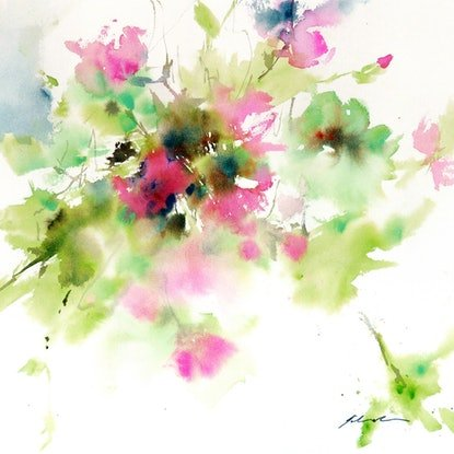 (CreativeWork) Truly Placid by Jill Bryant. Watercolour Paint. Shop online at Bluethumb.