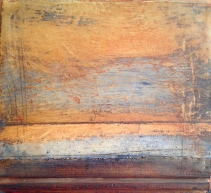 (CreativeWork) (Encaustic) Southern Tableland Series #1 by Catherine Ward. other-media. Shop online at Bluethumb.