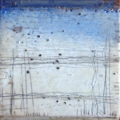 (CreativeWork) (Encaustic) Southern Tableland Series #2 by Catherine Ward. other-media. Shop online at Bluethumb.