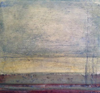 (CreativeWork) (Encaustic) Southern Tableland Series 3 by Catherine Ward. other-media. Shop online at Bluethumb.