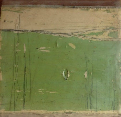 (CreativeWork) (Encaustic) Southern Tablelands Series 5 by Catherine Ward. other-media. Shop online at Bluethumb.