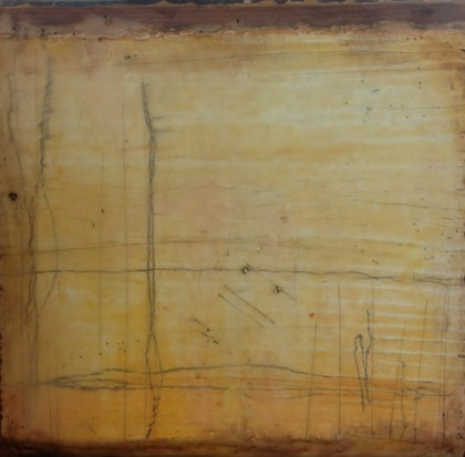 (CreativeWork) (Encaustic) Southern Tablelands Series 6 by Catherine Ward. other-media. Shop online at Bluethumb.