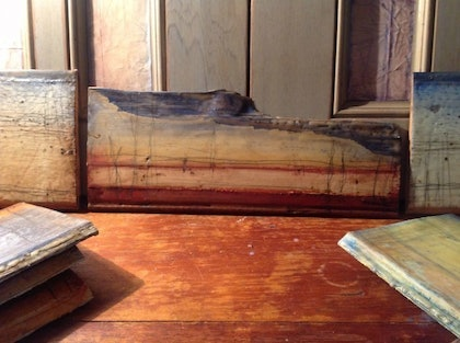 (CreativeWork) (Encaustic) Southern Tableland Series by Catherine Ward. other-media. Shop online at Bluethumb.