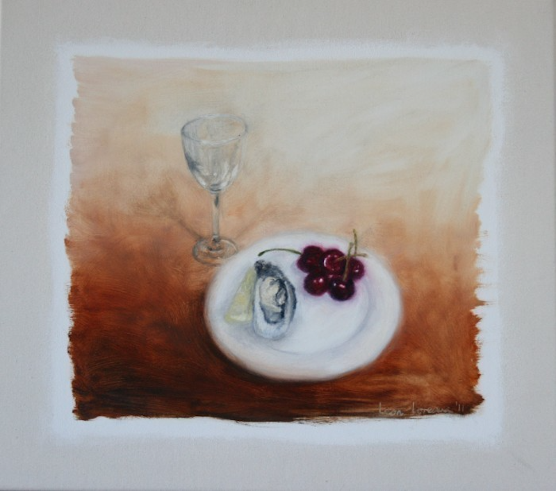 (CreativeWork) Still Life with Innuendo by Leon Loreaux. oil-painting. Shop online at Bluethumb.