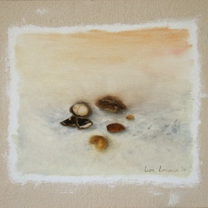 (CreativeWork) Still Life is Nuts by Leon Loreaux. oil-painting. Shop online at Bluethumb.