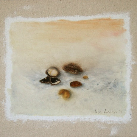 (CreativeWork) Still Life is Nuts by Leon Loreaux. Oil Paint. Shop online at Bluethumb.