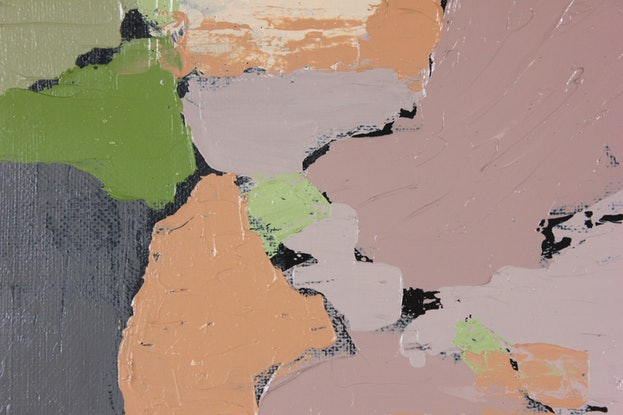 (CreativeWork) Secret History by Pip Montier. Acrylic Paint. Shop online at Bluethumb.