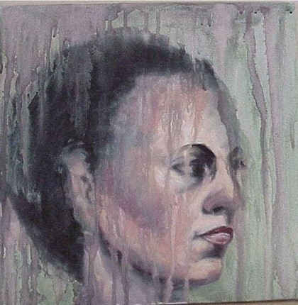 (CreativeWork) JO by Beryl Stutchbury. oil-painting. Shop online at Bluethumb.