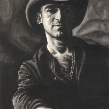 (CreativeWork) Ed Kowalczyk by Heath Carter. Drawings. Shop online at Bluethumb.