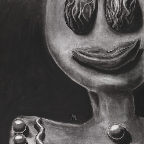 (CreativeWork) The Gingerbread Man by Heath Carter. Drawings. Shop online at Bluethumb.