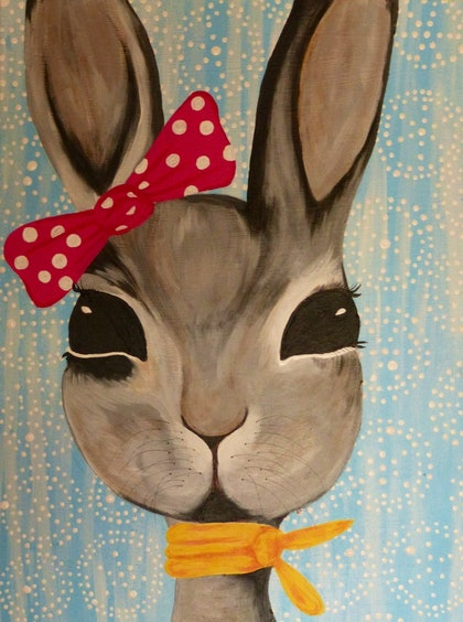 (CreativeWork) Alice by Shannon Lynam. arcylic-painting. Shop online at Bluethumb.